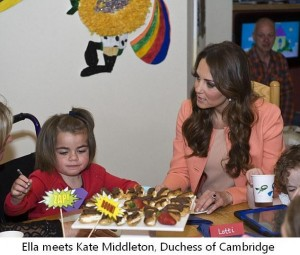 Ella & Kate Middleton