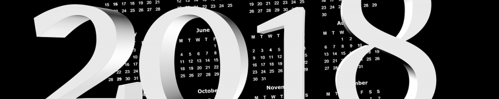 8 key dates in 2018 you should know